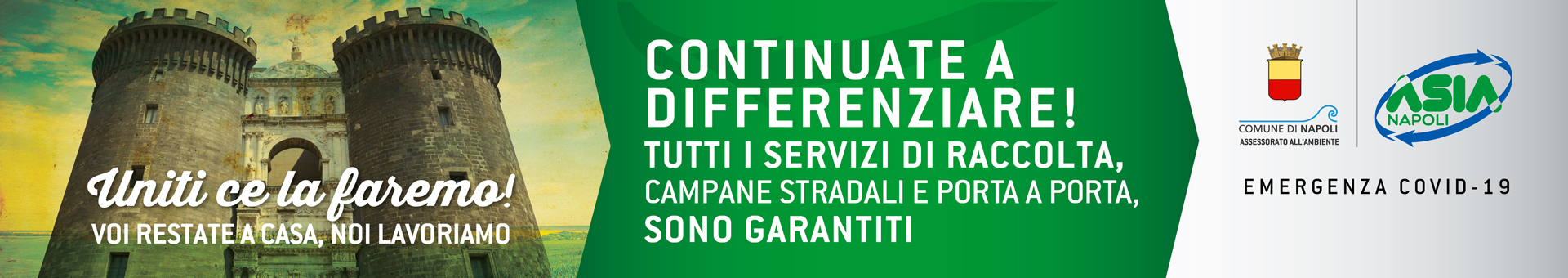 Continuate a differenziare